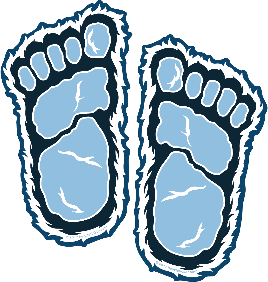 png royalty free Yeti feet png