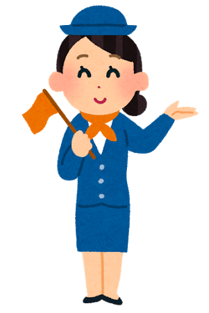 royalty free female clipart tour guide #35192471