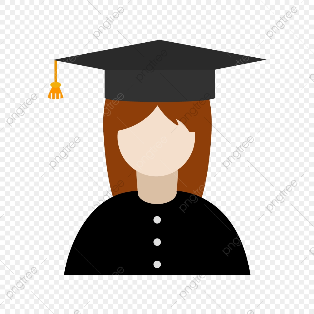 clip art transparent library Female icon user png. Vector avatar student