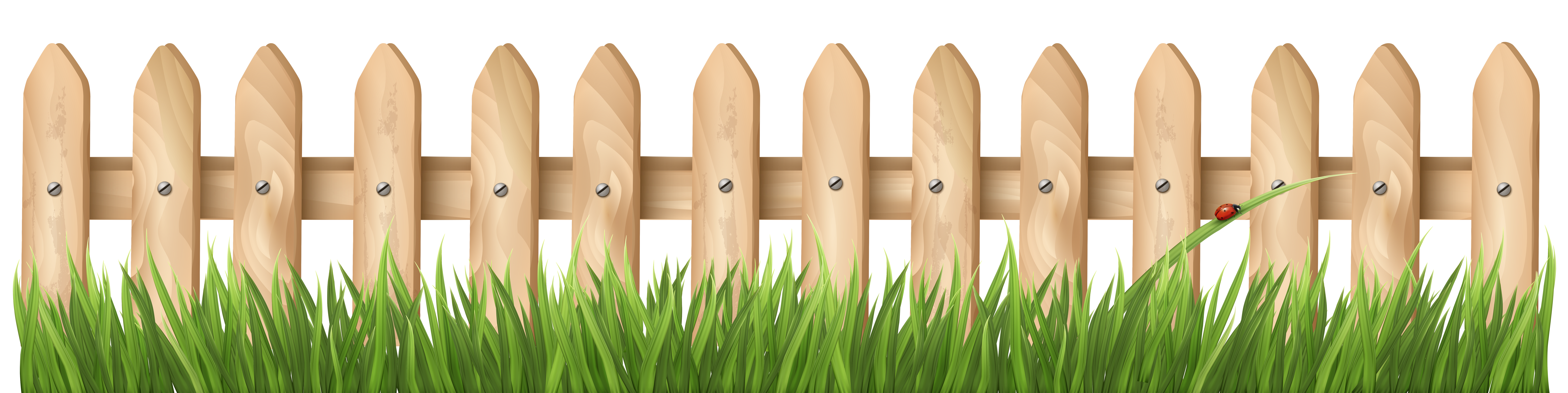 image black and white download Cut grass clipart. Transparent fence with png