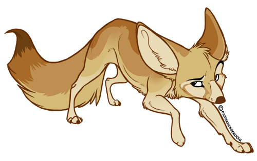 svg free stock Fennec Fox Drawing at GetDrawings