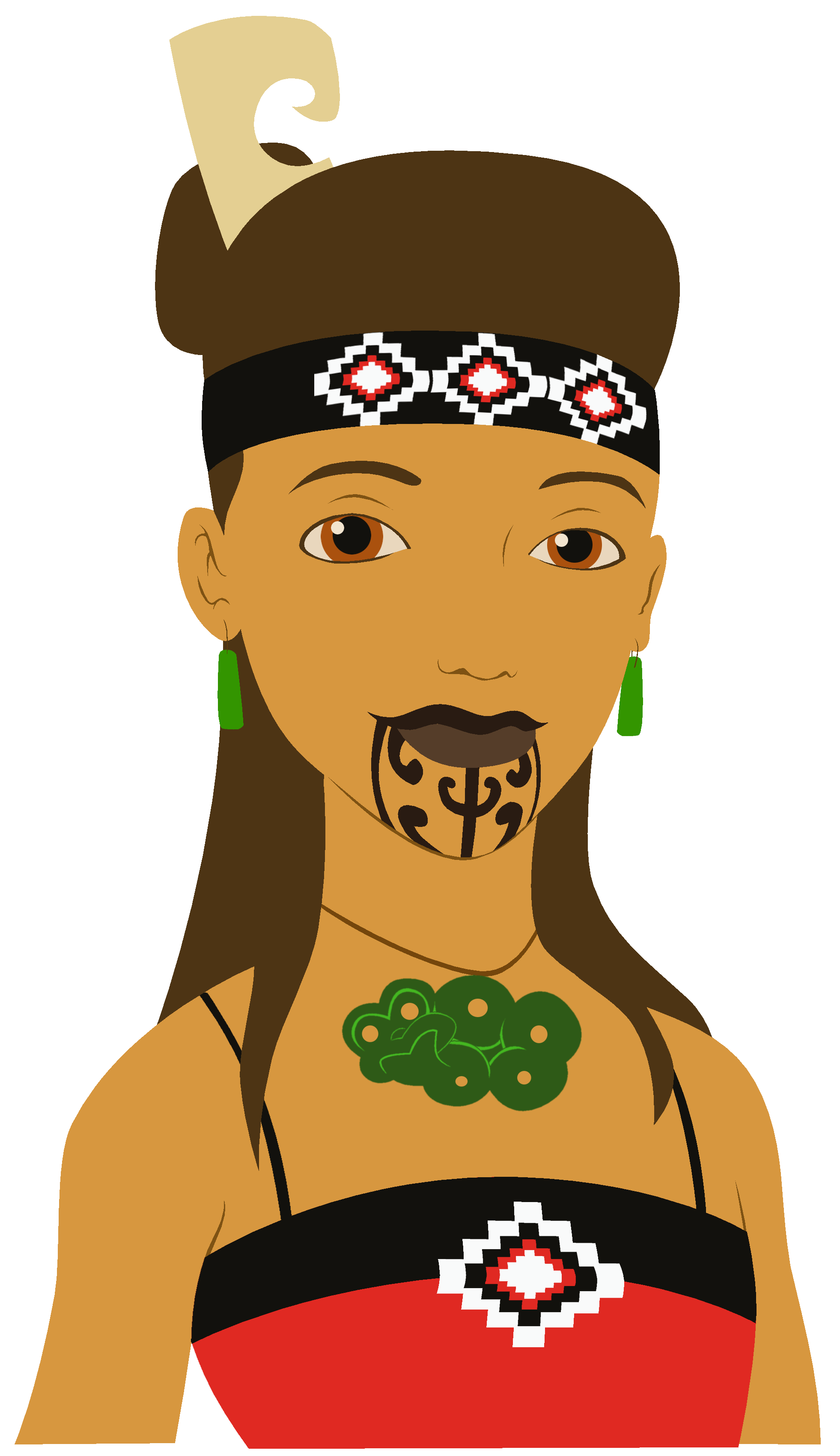 clip library stock Woman knitting clipart. Image result for maori