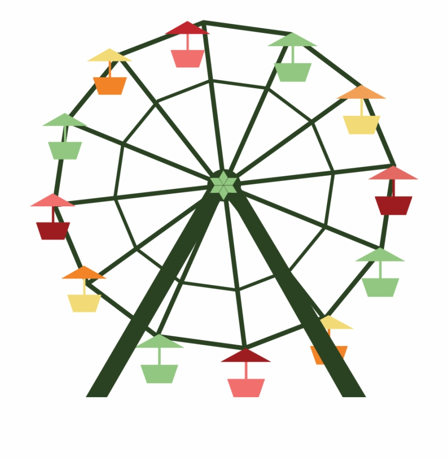 svg stock Ride transparent clip art. Ferris wheel clipart.