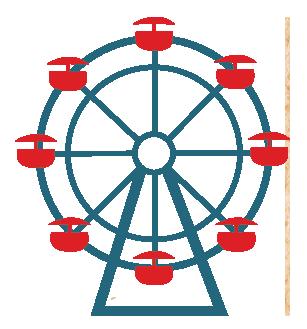 clip freeuse library Wheel silhouette clip art. Ferris clipart.