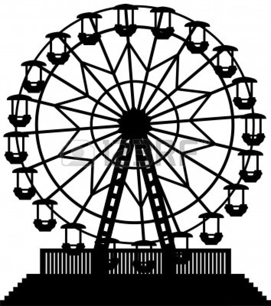 svg freeuse library Pin on altered bottle. Vintage ferris wheel clipart