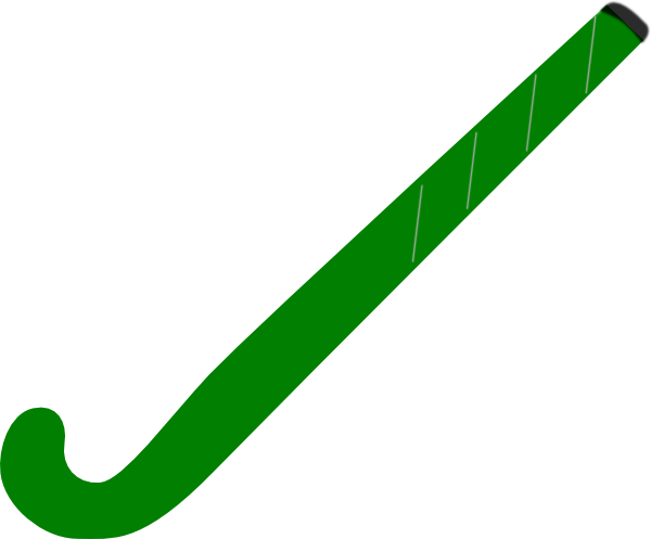 banner library library Hockey Stick Green Clip Art at Clker
