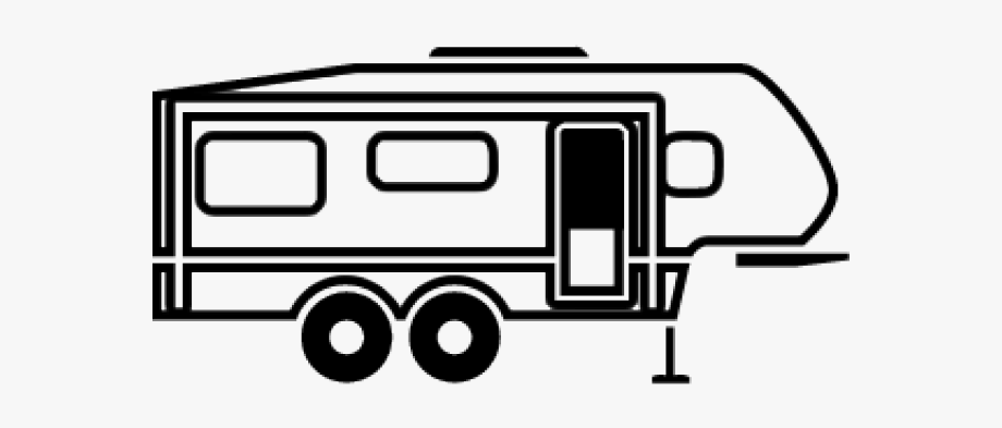 banner 5th wheel clipart. Camper th bus cliparts