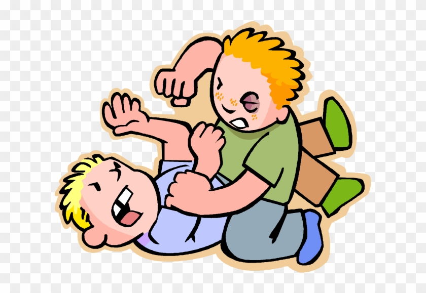 svg free stock Png kids fighting transparent. Fight clipart.