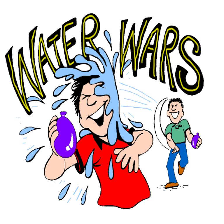 picture freeuse Water balloon clip art. Fight clipart.