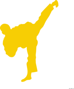 clipart freeuse Tkd clip art at. Fighter clipart.