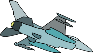 vector transparent Fighter clipart. Military plane clip art.