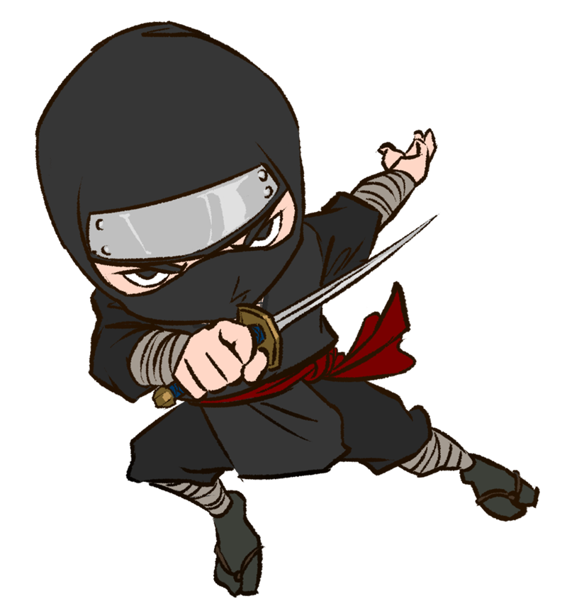 svg freeuse library You are Not a Ninja