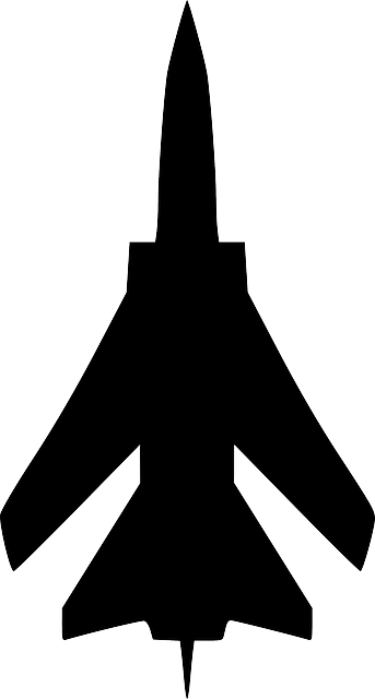 jpg free stock Jet Fighter Silhouette at GetDrawings