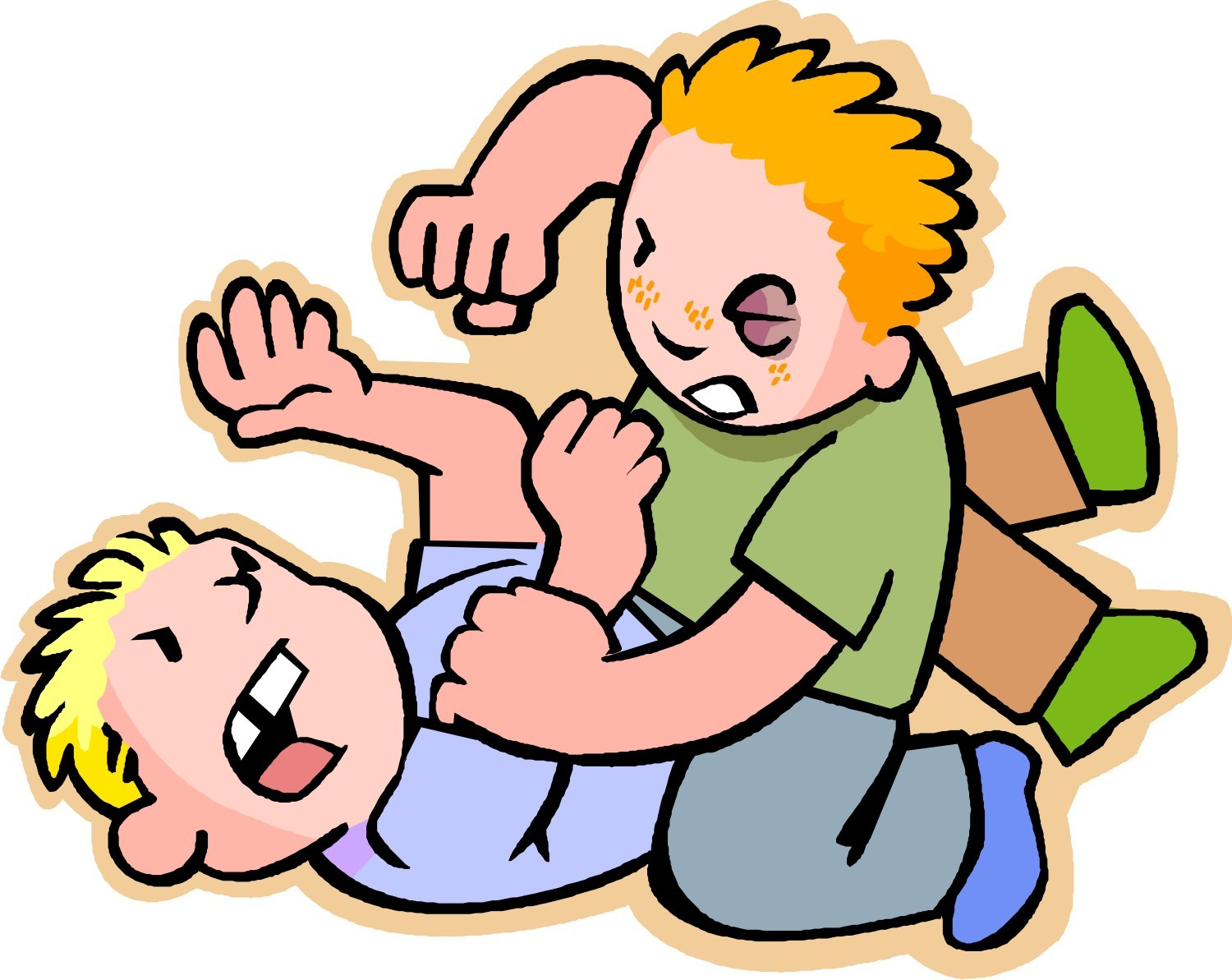 vector free download Kids fight clipart. Free students fighting cliparts