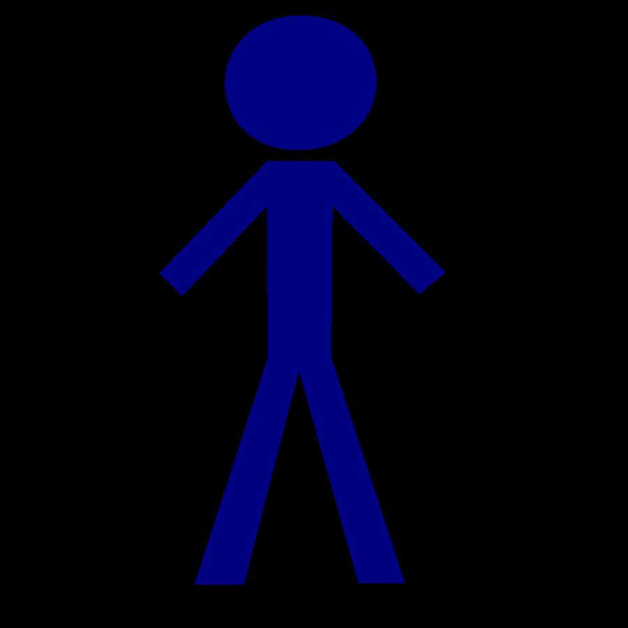 clip transparent download Figure clipart. Black stick clip art