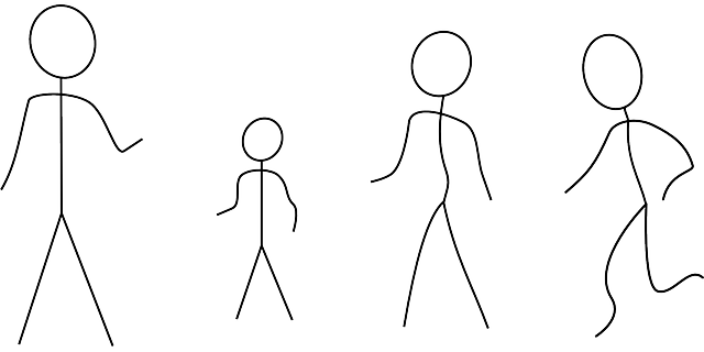 banner black and white library Figure clipart 7 person family. Stick of group free