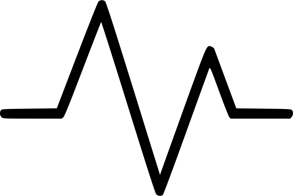 graphic transparent library Collection of free Line svg heart beat