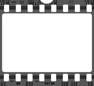 picture Movies clipart film festival. Free svg file strip.