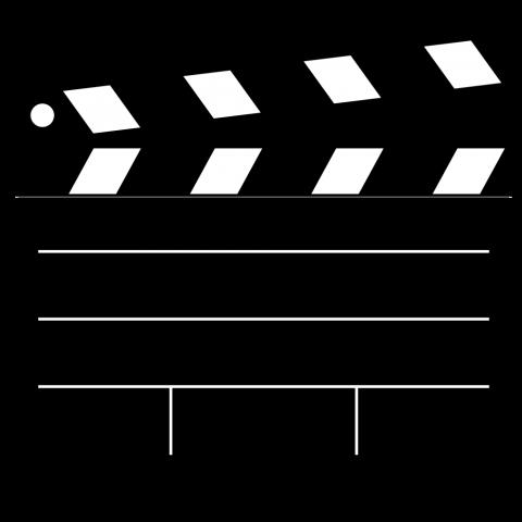 picture free download Film clipart. Movie clapper clip art.
