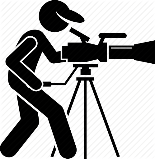 clip art library download Videographer