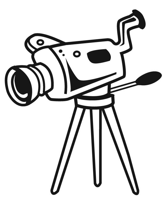 vector download Movie Camera Drawing at PaintingValley