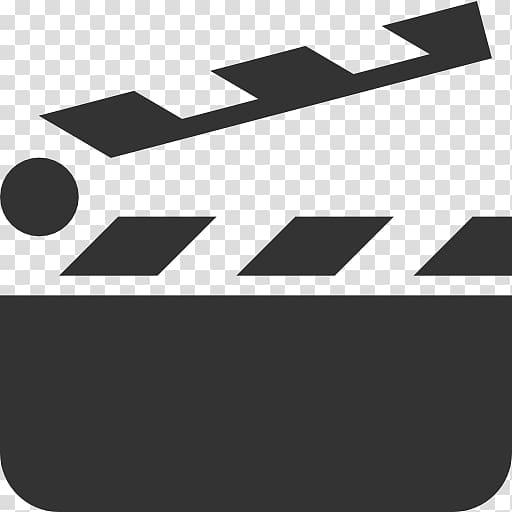 graphic transparent Film transparent symbol. Clapperboard illustration icon .