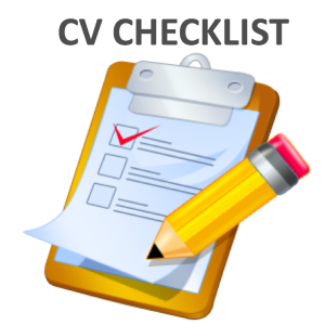 graphic royalty free library Curriculum vitae idealjobs ie. Finding clipart checklist