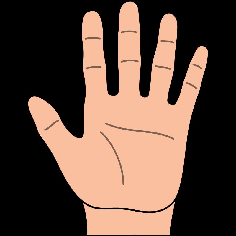 svg free Hand Clip Art