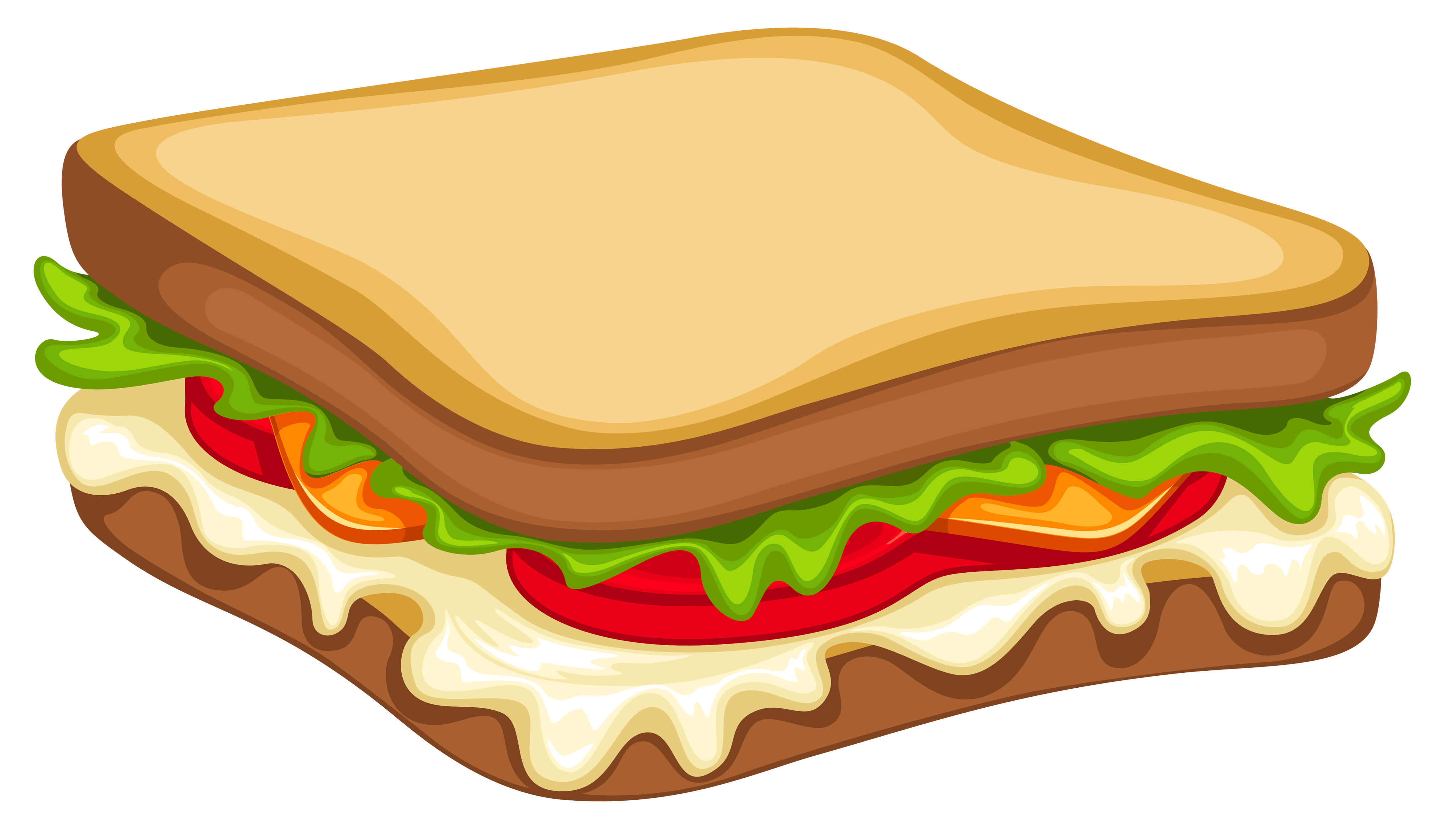 vector transparent library Png vector image gallery. Piece clipart sandwich