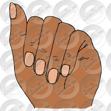clipart freeuse stock Fingernails Picture for Classroom