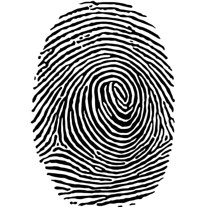 jpg black and white download Fingerprint clipart. Clip art free panda.