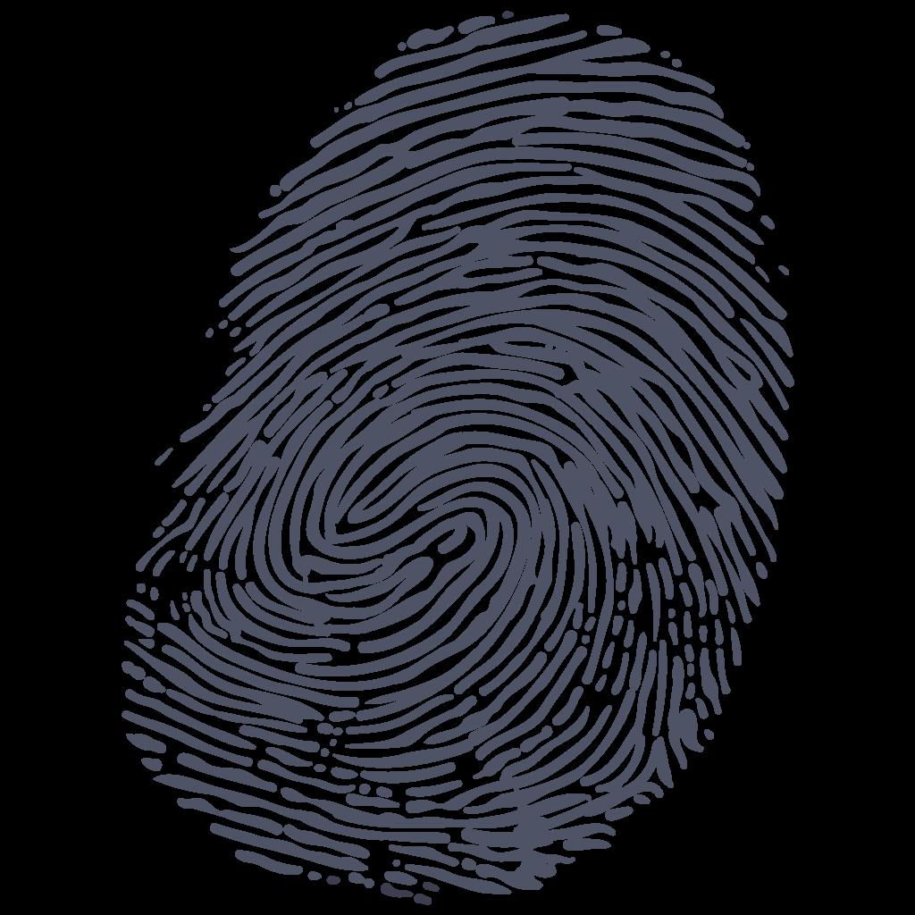 clip art black and white Fingerprint clipart. Png transparent images all.