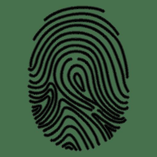 image freeuse Lined human fingerprint