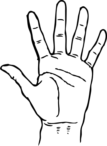 banner transparent library Hands and . Fingers clipart