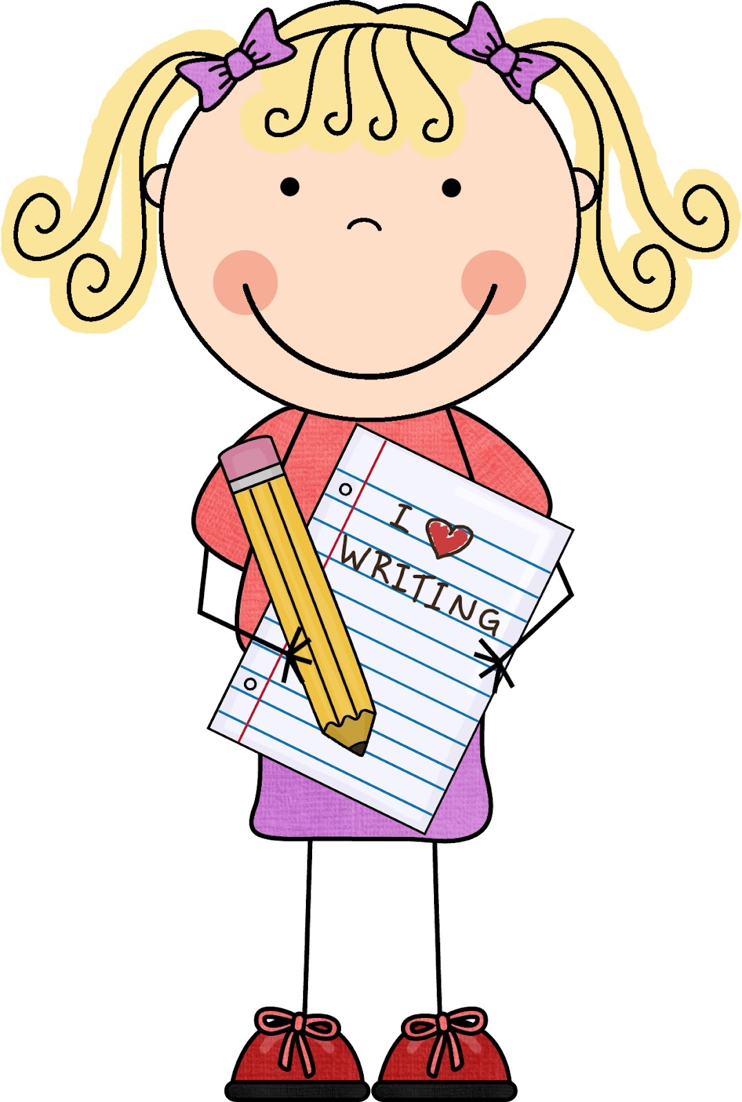 graphic free Free student assessment cliparts. Writer clipart work