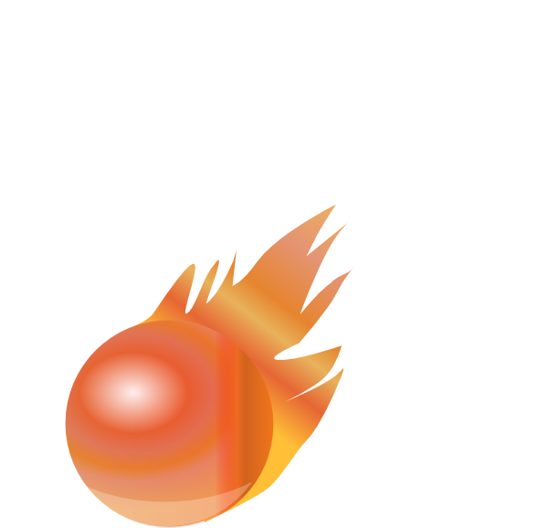 vector royalty free library Drawing power fireball. Fire ball clip art