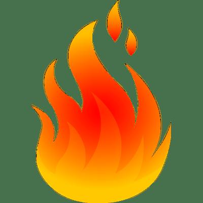 graphic transparent Cartoon Fire Png Transparent