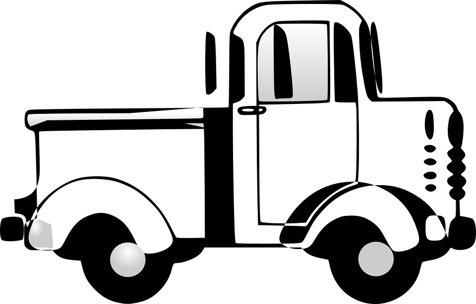 image stock Truck cliparts shop of. Fire engine clipart black and white