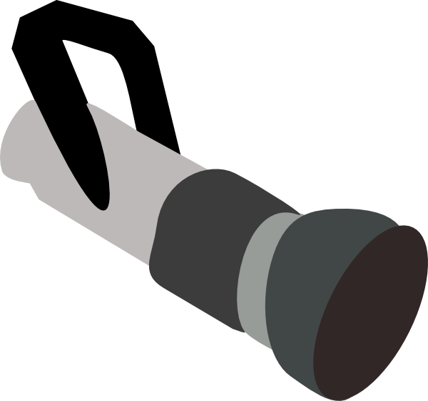 clipart library stock Fire art at clker. Black clip hose