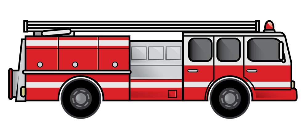 jpg black and white download Fire Truck Clipart at GetDrawings