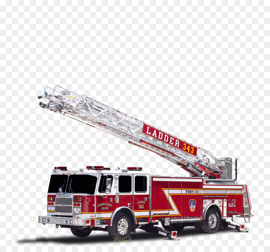 vector transparent library Fire truck ladder clipart. New york city transparent.