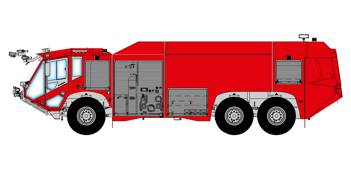 freeuse download Fire truck ladder clipart. E one airport rescue.
