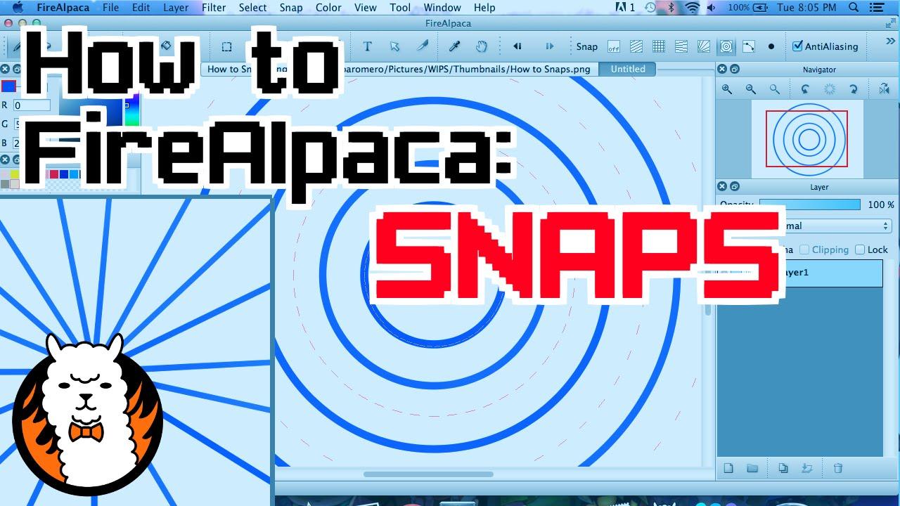 clip stock How to snaps . Firealpaca vector