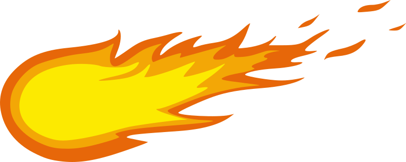 png freeuse Meteor clipart. Fireball medium image png.