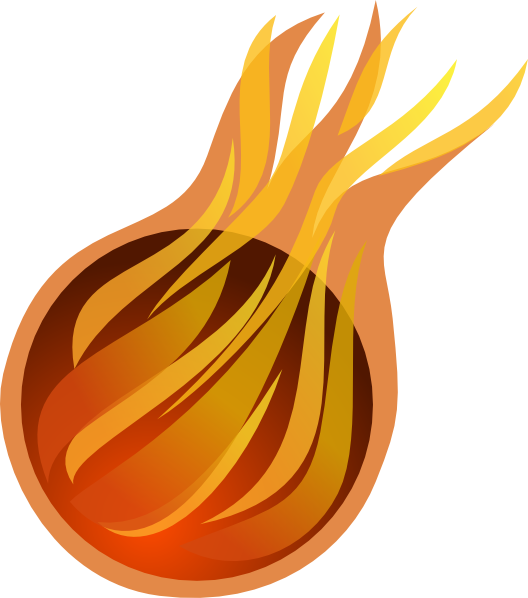 image freeuse Fireball Clip Art at Clker