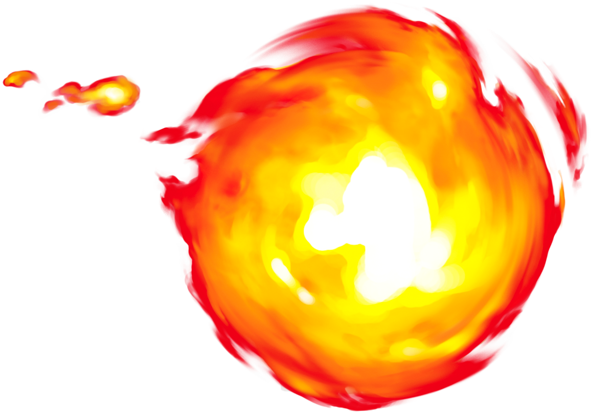 graphic free stock Fireball Clipart torch fire