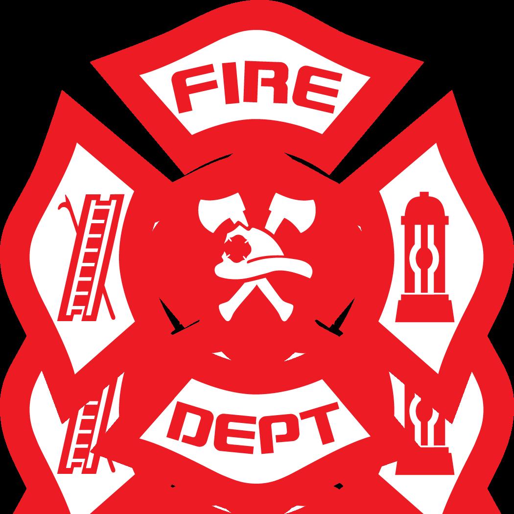 clip Vector crest fire department. Logos ololoshenka pinterest