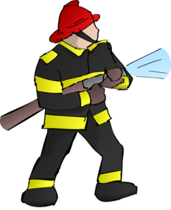 svg free download Firefighter clipart thing. Fire fighter clip art.