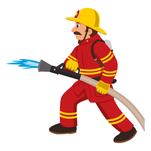 clip transparent library With hose pipe png. Firefighter ladder clipart