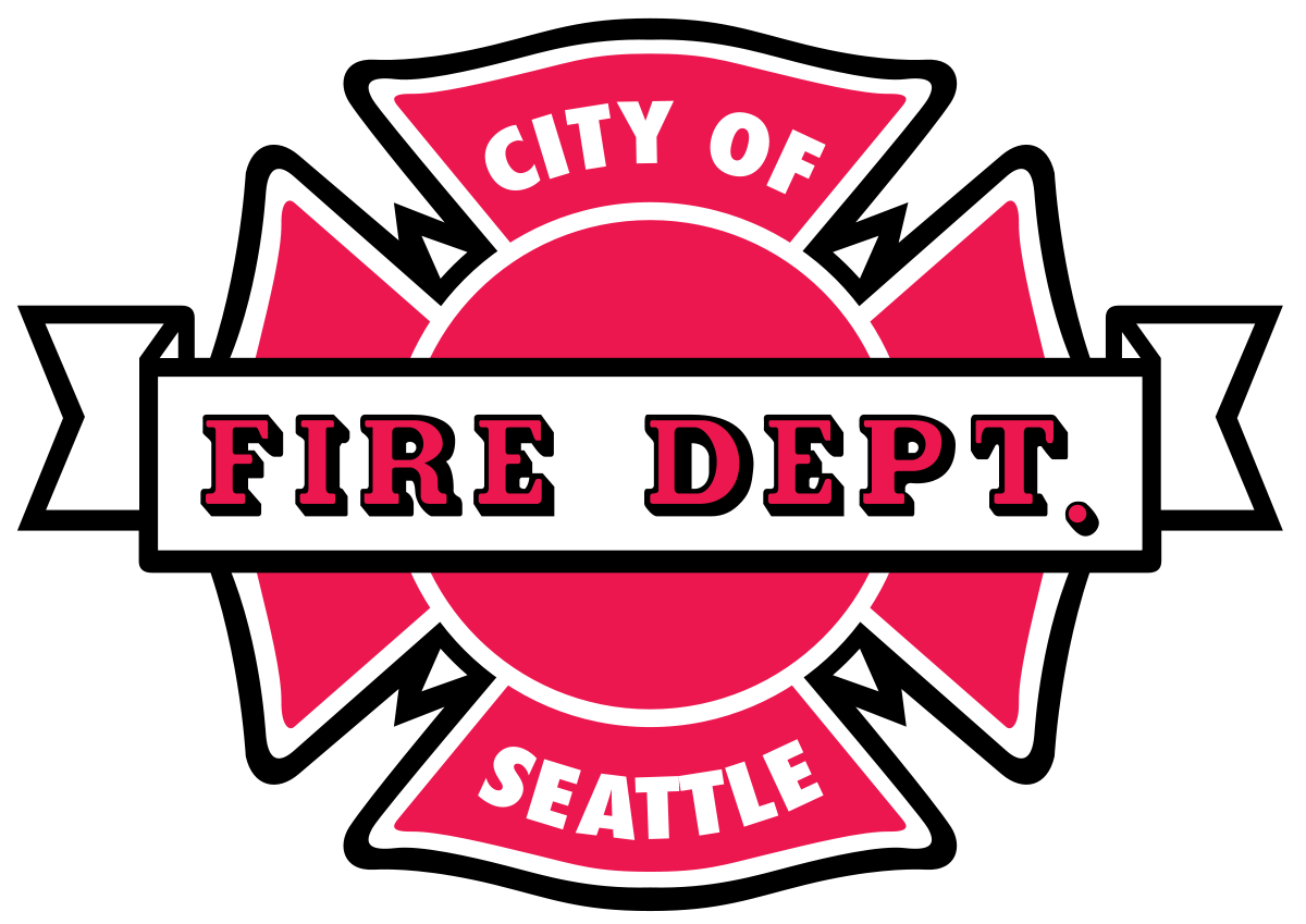 image library library Seattle wikipedia . Vector crest fire department